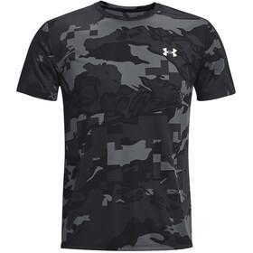 Under Armour Speed Stride Printet kortærmet skjorte Herrer, grå